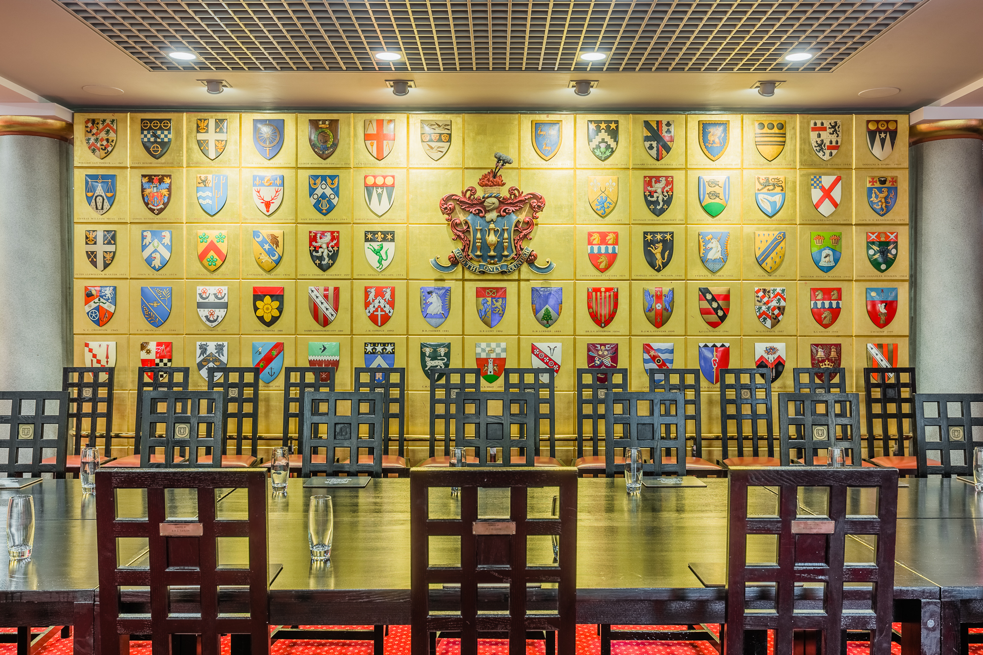 Livery Hall set for Banquet